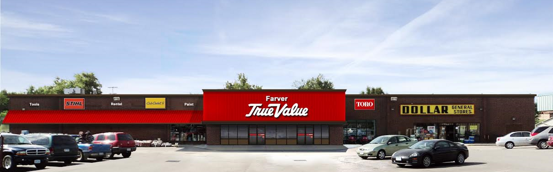Farver True Value Store Front